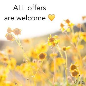 I 💛 ALL offers!